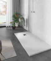 Plato de ducha resina Liso Futurbaño