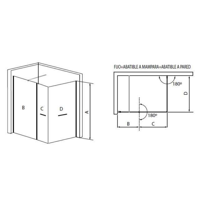 •   Sistema de expansión 2 cm con corrector de desnivel
