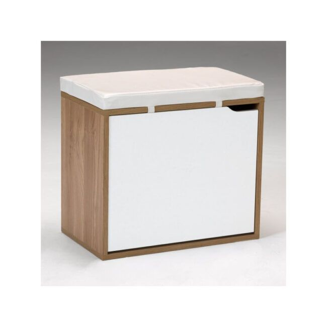 Banco zapatero de madera IBERODEPOT