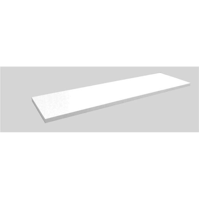 Estante melamina 60 x 15 blanco IBERODEPOT