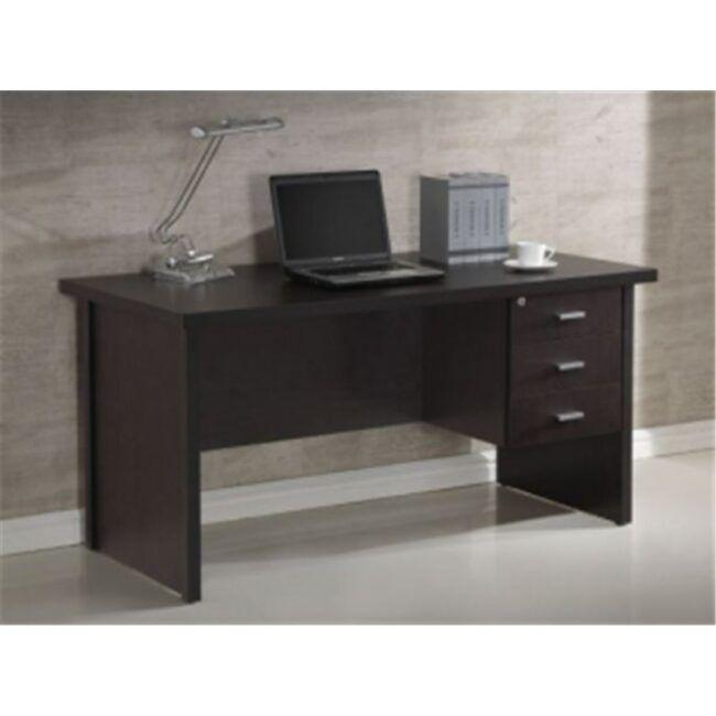 Mesa de despacho 3 cajones Wengue IBERODEPOT