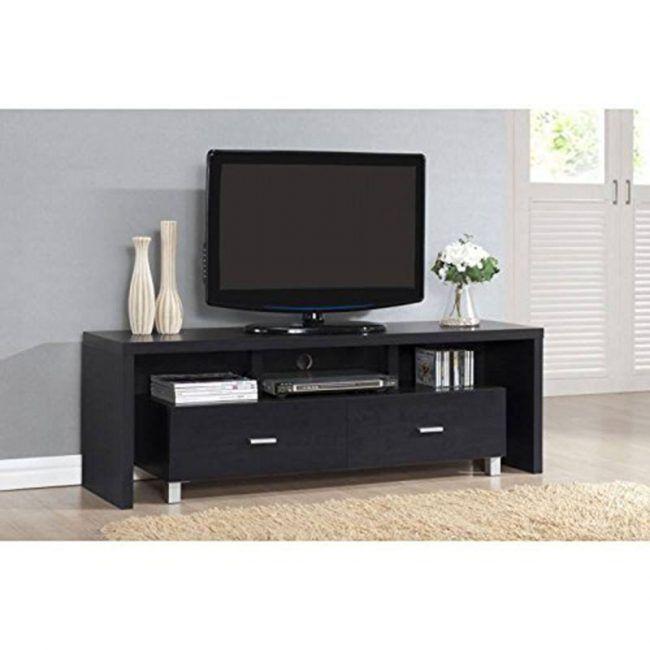 Mesa de televisión 2 cajones IBERODEPOT