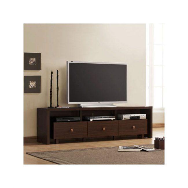 Mueble de televisión con 3 cajones IBERODEPOT