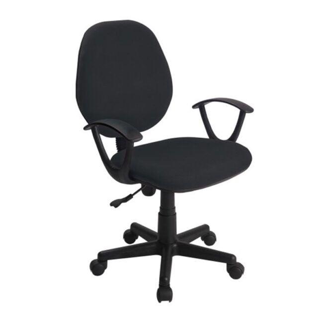 Silla de escritorio Negra IBERODEPOT
