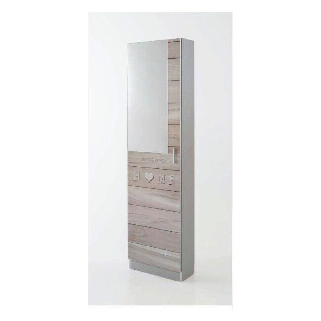 Zapatero 1 puerta con espejo IBERODEPOT