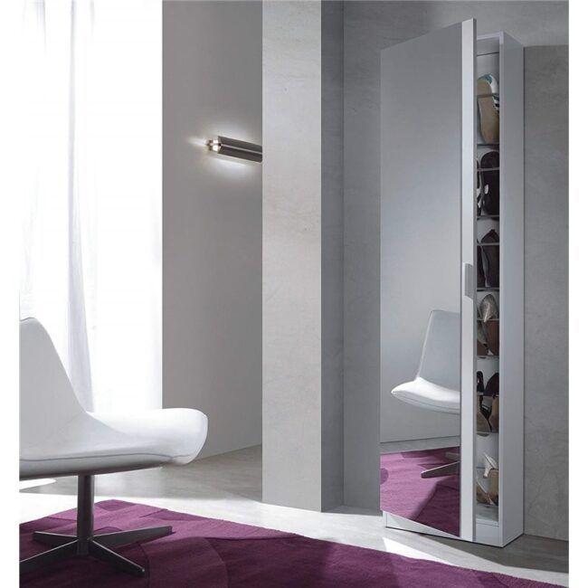 Zapatero con espejo IBERODEPOT