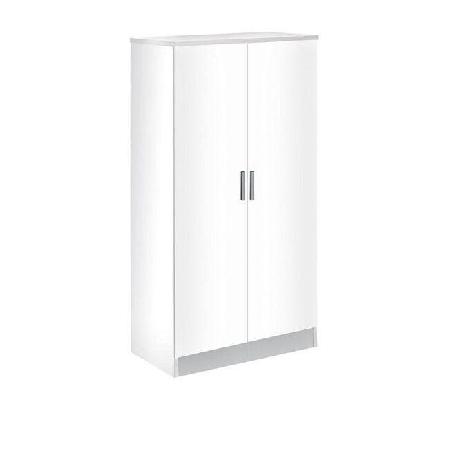 Zapatero puertas abatibles blanco IBERODEPOT