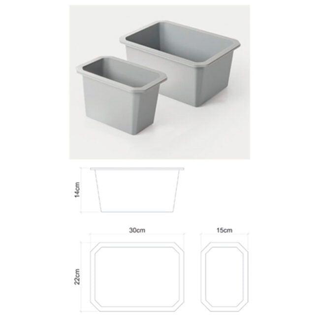 Cubetas cajón TEGLER