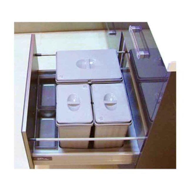 Gestión de residuos para gaveta TEGLER