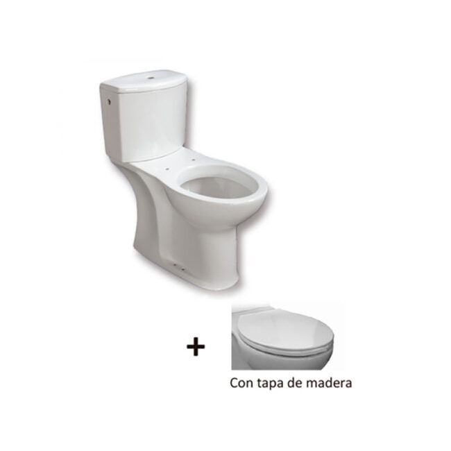 Inodoro completo Accesible C/ Baja TEGLER