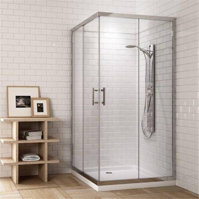 Mampara de ducha cuadrada TEGLER
