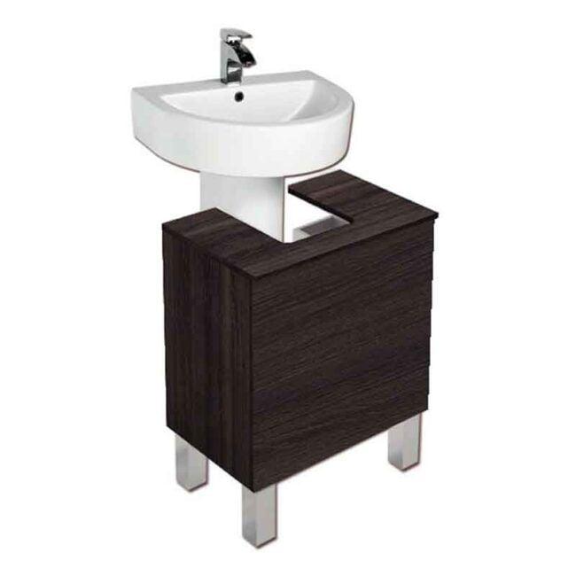 Mueble bajo lavabo Acacia TEGLER