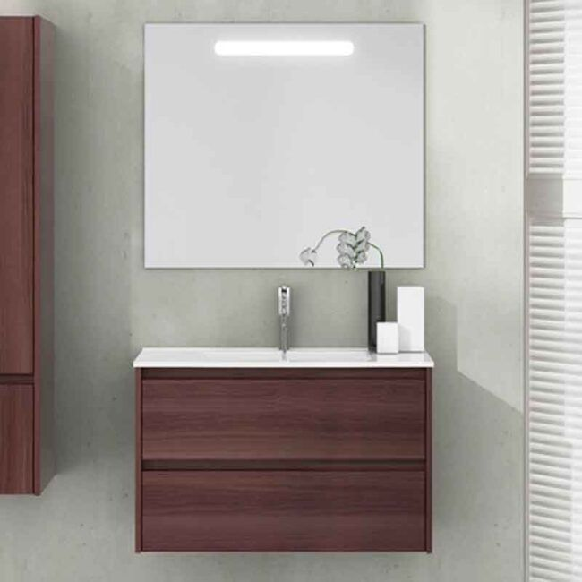 Mueble con lavabo de fondo reducido Ibiza TEGLER