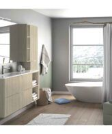 Mueble con lavabo Neris TEGLER