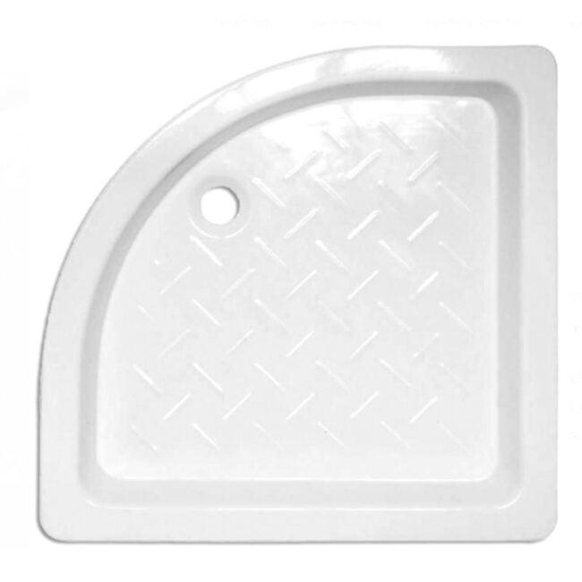 Plato de ducha Cerámico angular con relieve 80x80 TEGLER