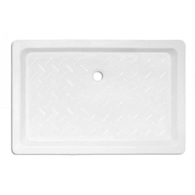 Plato de ducha Cerámico rectangular con relieve 140x70 TEGLER