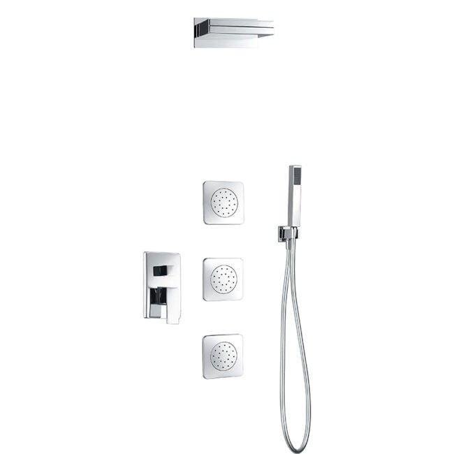 Sistema de ducha empotrado Formentera Imex